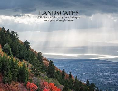 2019 Landscapes Fine Art Calendar