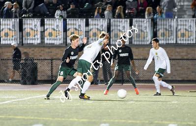 Trinity Boys Soccer vs St X - Varsity