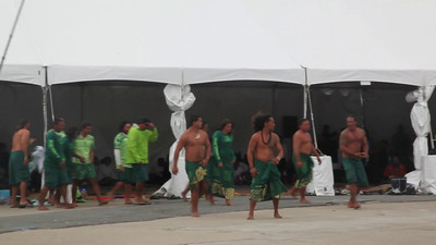 Voyaging Vaka haka performances