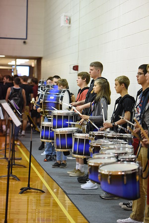 Fall Pep Rally - Band
