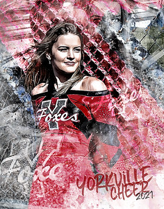 2021 11x14 Kendall Yorkville Cheer
