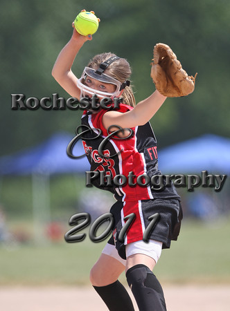 12U Webster Extreme v. Rochester Revenge Red 1:30PM 2011