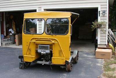 Boston and Maine Fairmont Track Car #652