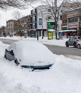 Snowstorm Streets of Montreal - February 2019