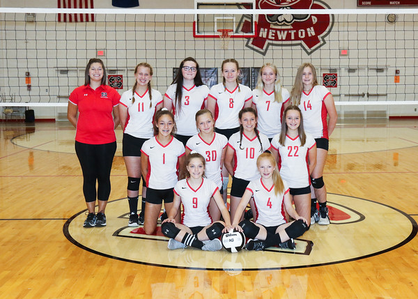 SNMS Volleyball Team 2019