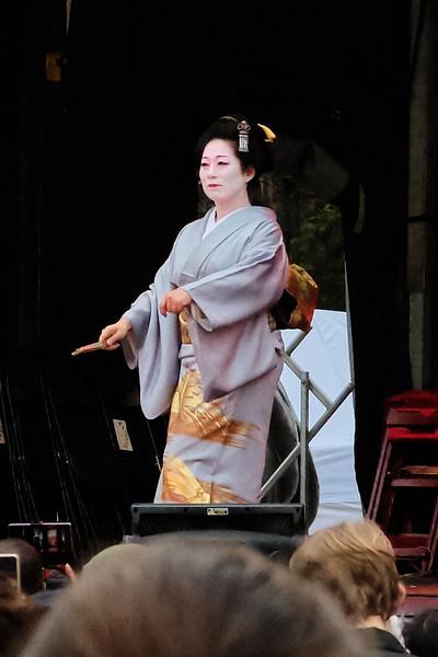 Shinozuka Zuiou, Kyou-mai dancer