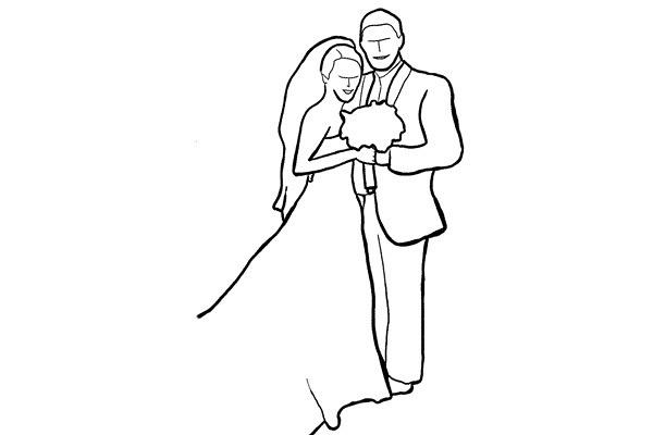 拍摄姿势系列 - 婚礼新人的拍摄姿势zz - 一镜收江南 - 清韵