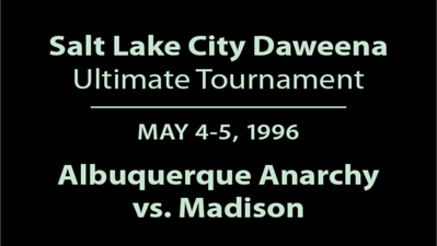 1996 Daweena - ABQ vs. Madison