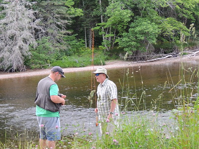 Fishing on the Margaree