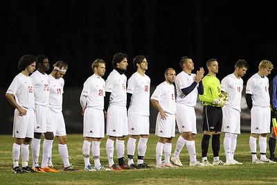 Men's Soccer vs. High Point Big South Play Off