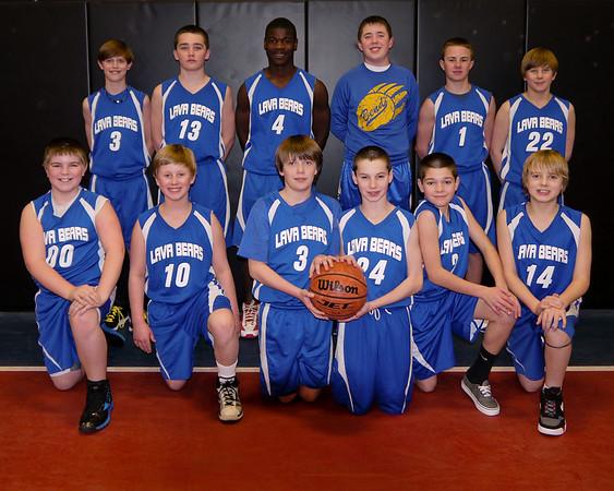 Lava Bears 6th Grade Bball 2011