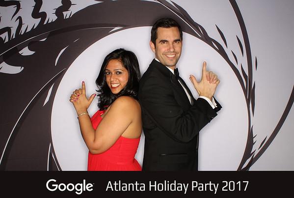 """Google """"Atlanta Holiday Party 2017"""""""