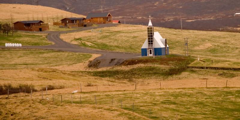 Kirkjan að Úthlíð