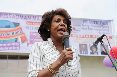 CONGRESSWOMAN WATERS 2018