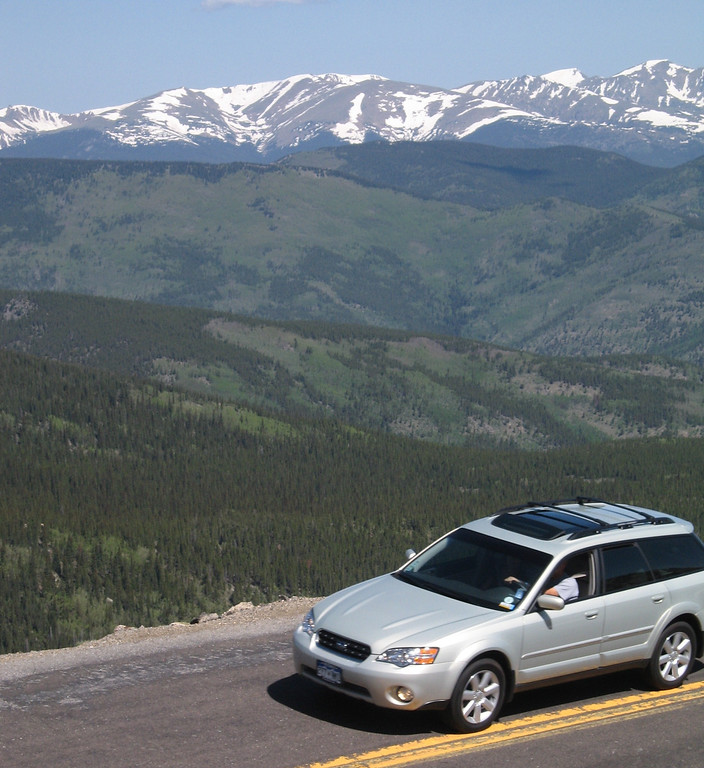 . The Mount Evans Scenic Byway generally closes after Labor Day due to snow, so this weekend is your last chance to see it.