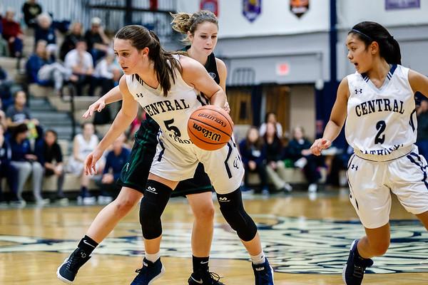 CC Girls Varsity Basketball vs Covenant Christian 2017-11-21
