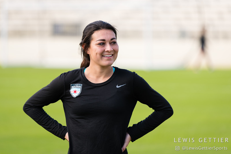 NWSL Championship Training and Press Conference