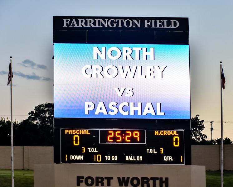 Varsity vs  Paschal 10-14-16-8