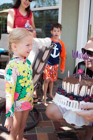Whitney's 5th Birthday