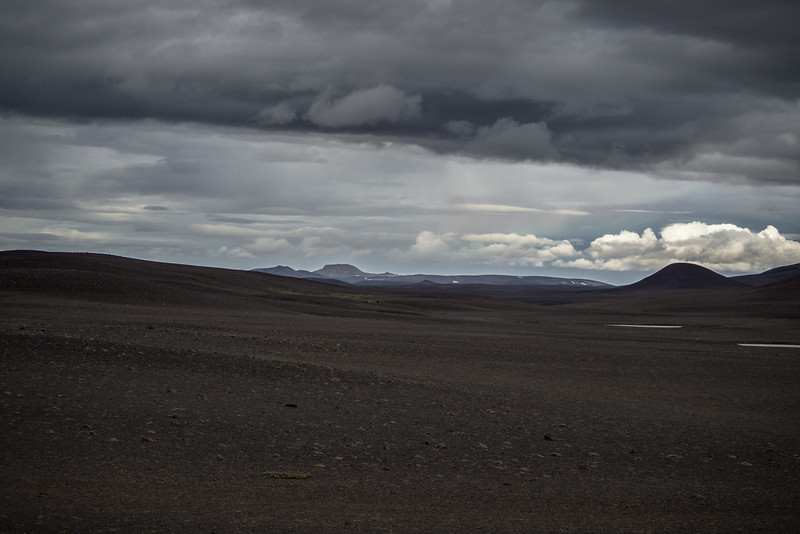 The vast lava deserts of North Eastern Iceland.