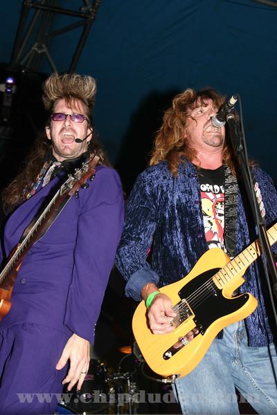 Disciples of Loud (Warner Hodges) and Jason Ringenberg.  July Jamm 2004
