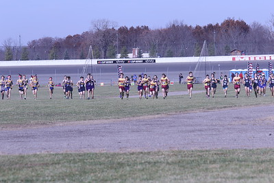 D4 Boys' at 400M Section 2 - 2020 MHSAA LP XC