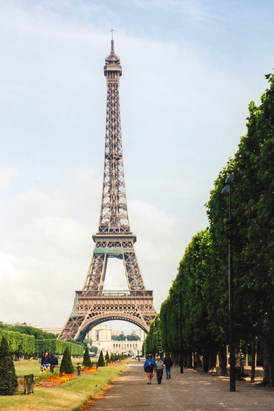 Eiffel Tower, Paris France, 1996