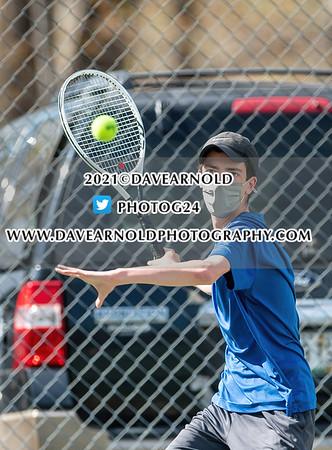 4/27/2021 - Boys Varsity Tennis - York vs Berwick