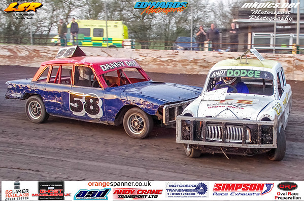Historic Stock Cars, Northampton 30 March