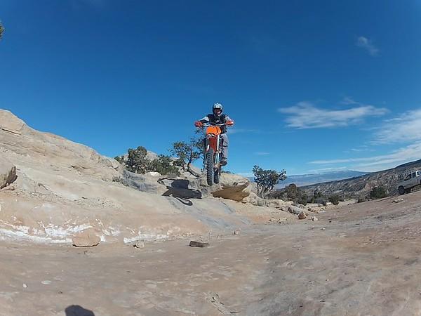 Butterknife Trail - Bangs Canyon playing