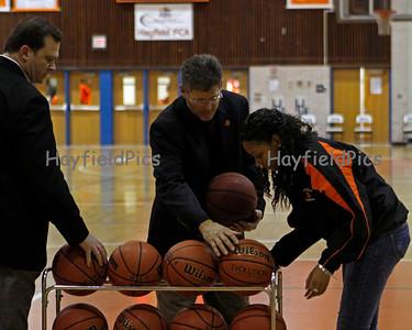 Basketball Washington & Lee 1/6/10