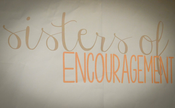 Sisters of Encouragement  04.08.16
