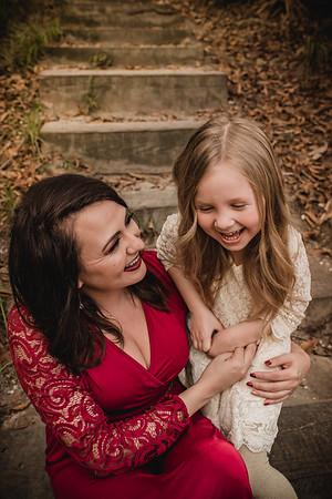 Mommy & Me - Amanda & Paige Fall 2020