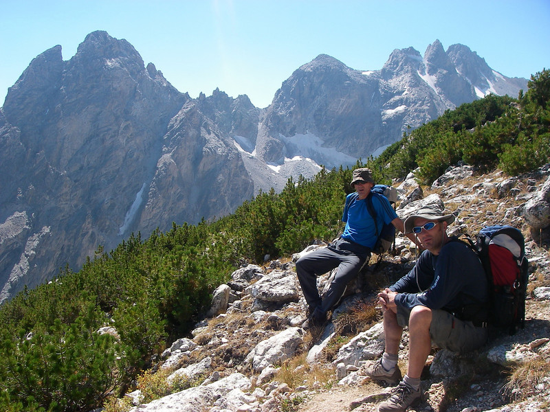 Middle and South Teton behind