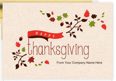 Berger Kahn Thanksgiving Cards 2014