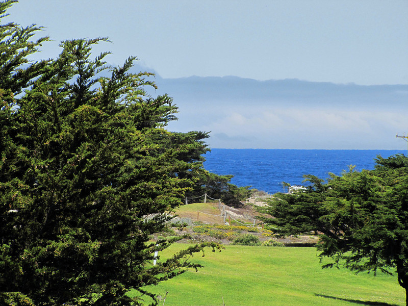 Monterey Bay, from Pacific Grove Municipal Golf Course