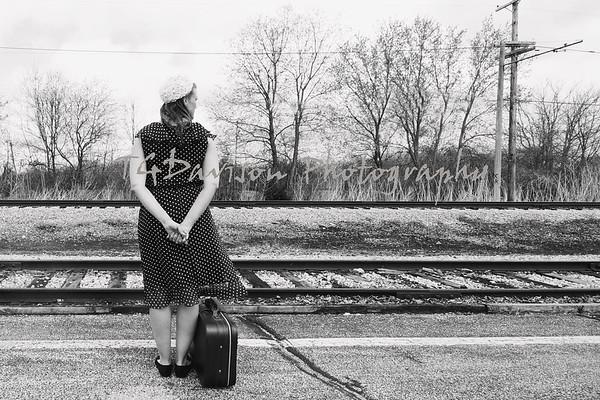 Jennifer Illinois Railway Museum 4/11