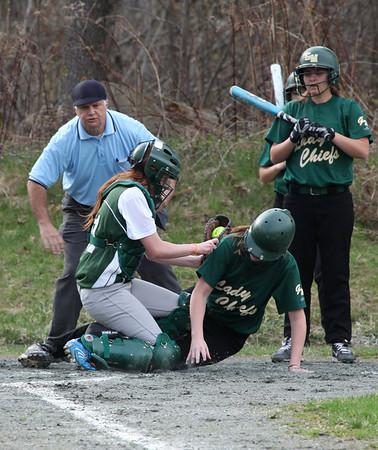 WUHS Softball Team vs Gr. Mountain