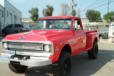 1969 Chevy K20 Pickup Truck