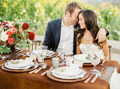 Holman Ranch Workshop Styled Shoot
