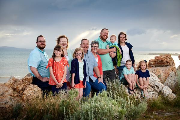 2019_05_25 Stratton Family - Antelope Island