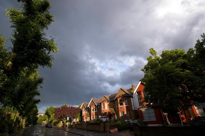 Ealing Common, houses, London, United Kingdom