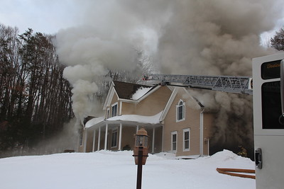 Structure Fire - 711 Southington Rd. Berlin, CT - 02/05/2021