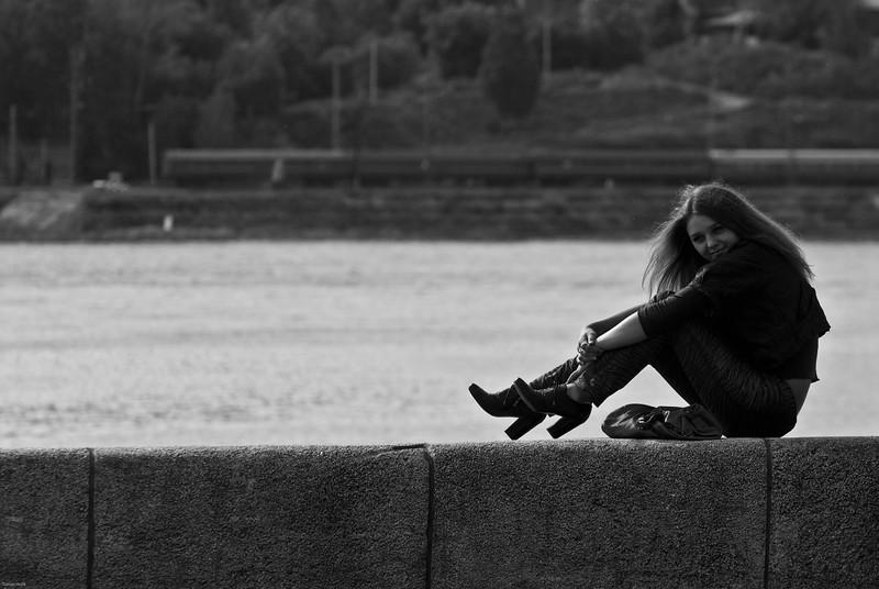 Dievča, Irkutsk, Rusko