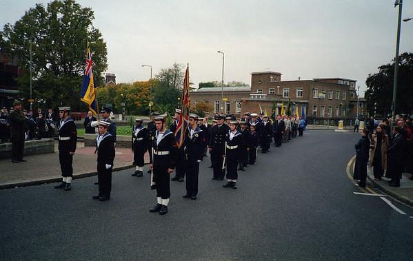 Beckenham Remembrance Day Parade 2001