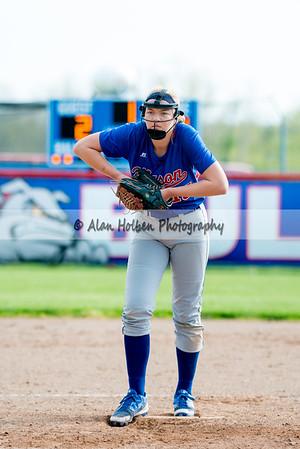 Varsity Softball - Dewitt at Mason