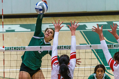 Hartford vs Dartmouth Volleyball