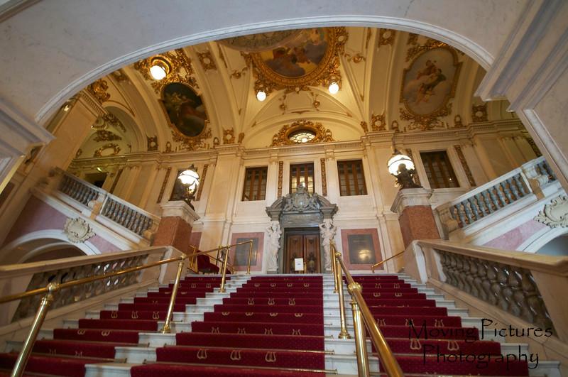 Stockholm - Opera House, entrance