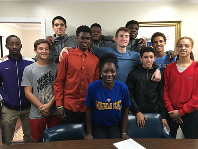 2016-2017 Phydel Nwanze Signing Morehead