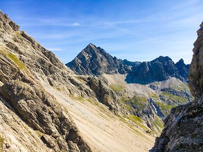 Marchspitze, Großer Krottenkopf mountain run